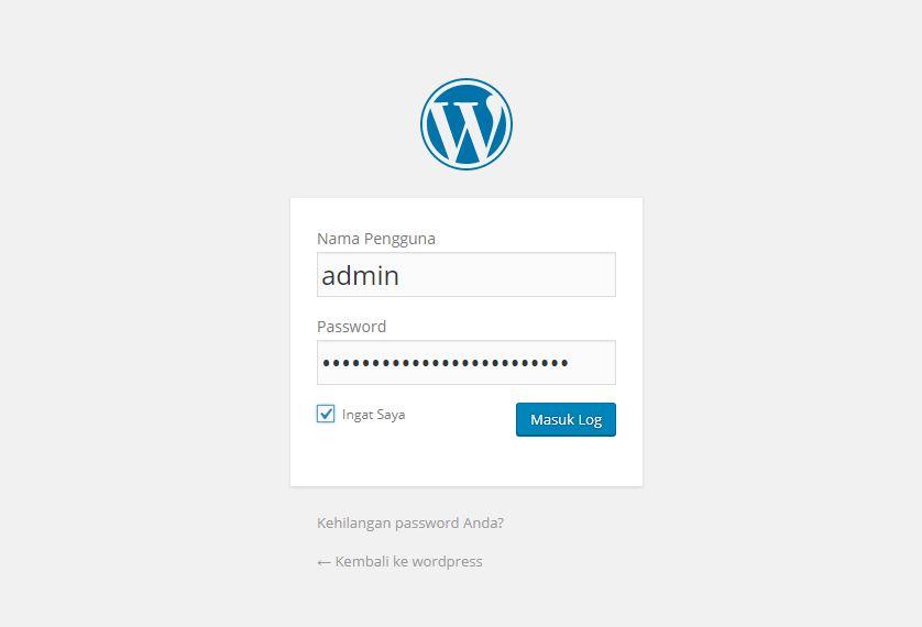 Tutorial Wordpress Part 1 : Pengenalan Dan Cara Instalasi