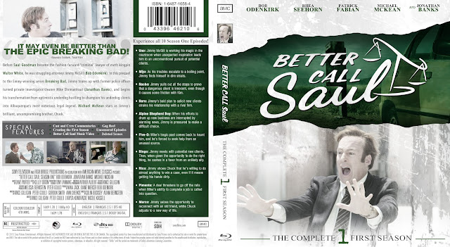 Capa Bluray Better Call Saul Primeira Temporada Completa