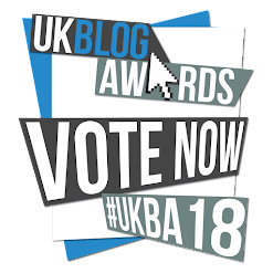 UK Blog Awards 2018 - Nominee