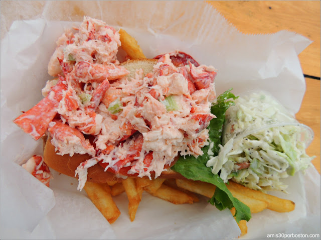Lobster Roll en Massachusetts