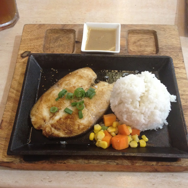 grilled fish at Jonie's Flavored Chicken