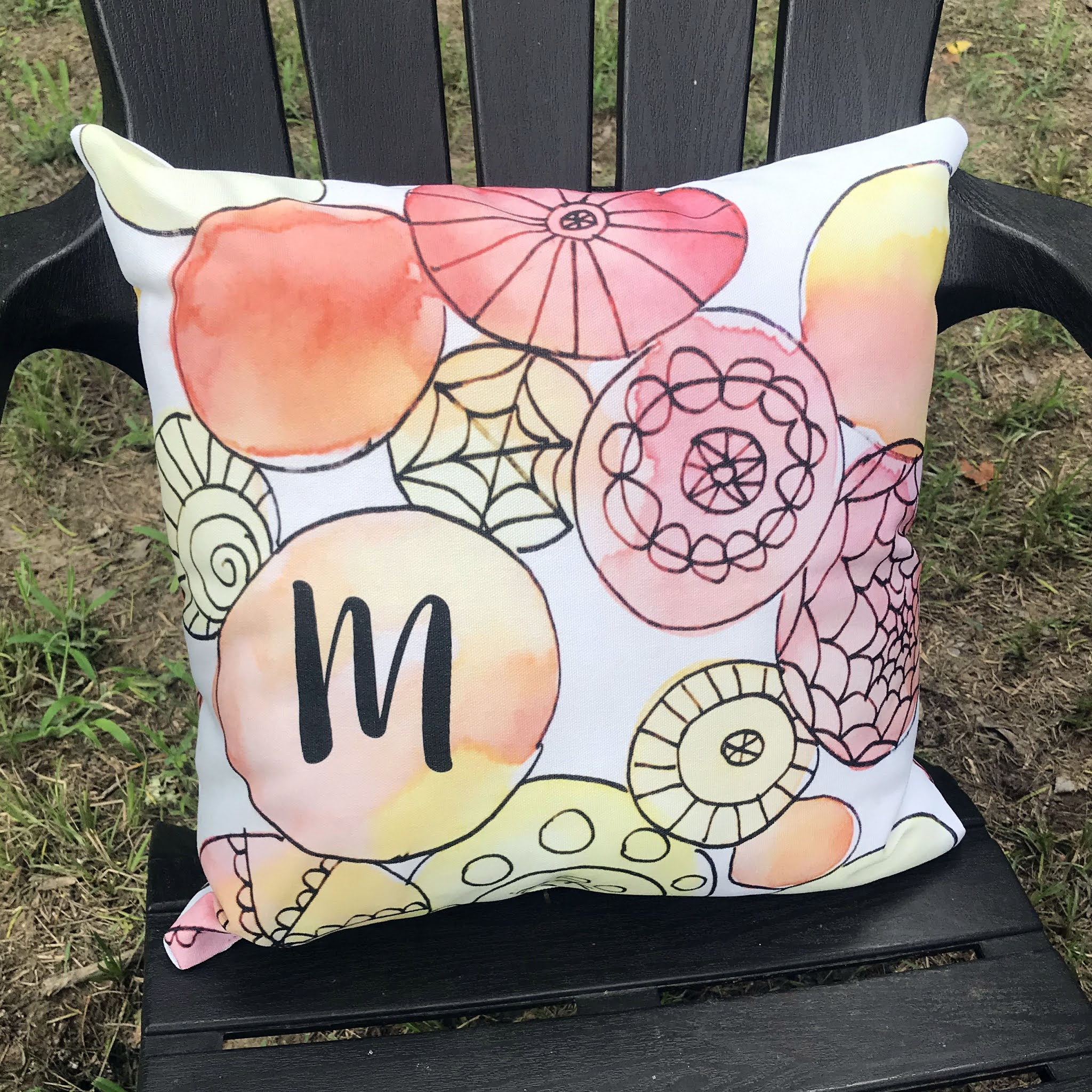 Whimsical Bee Pillow