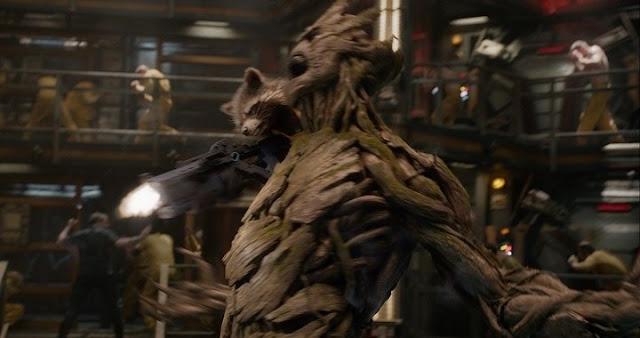 Groot y Hulk lucharán en Avengers: Infinity War