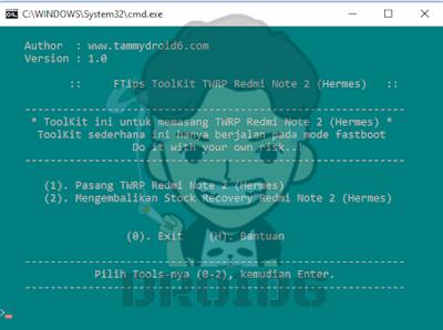 Cara Pasang / Install TWRP dan ROOT Redmi Note 2/Prime