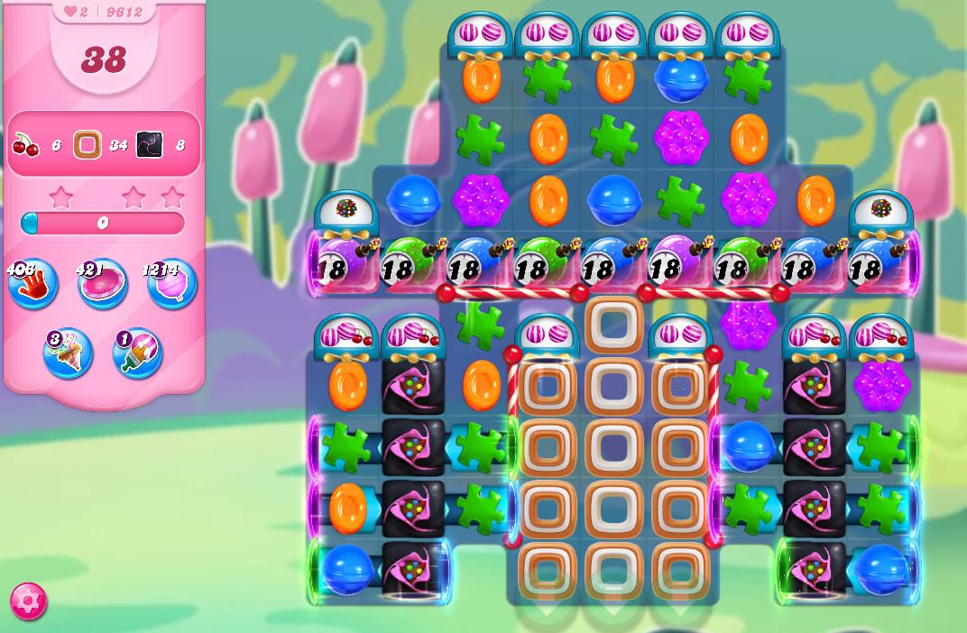 Candy Crush Saga level 9612