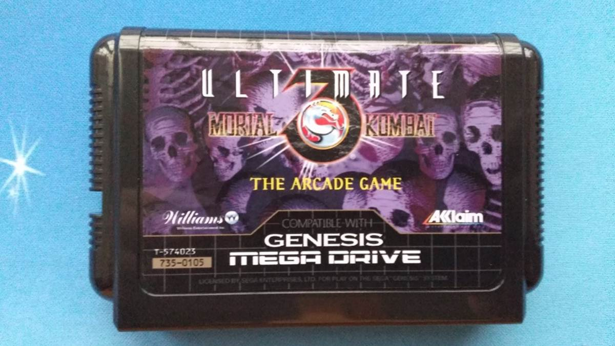 kaset Mortal Kombat SEGA Genesis