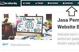 Cara Menambahkan Icon Pada Menu Navigasi Blog