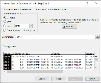 Cara Mudah Mengubah CSV Menjadi Tabel Excel