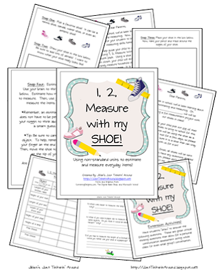Jillian's Just Tinkerin' Around!: Measuring With Non