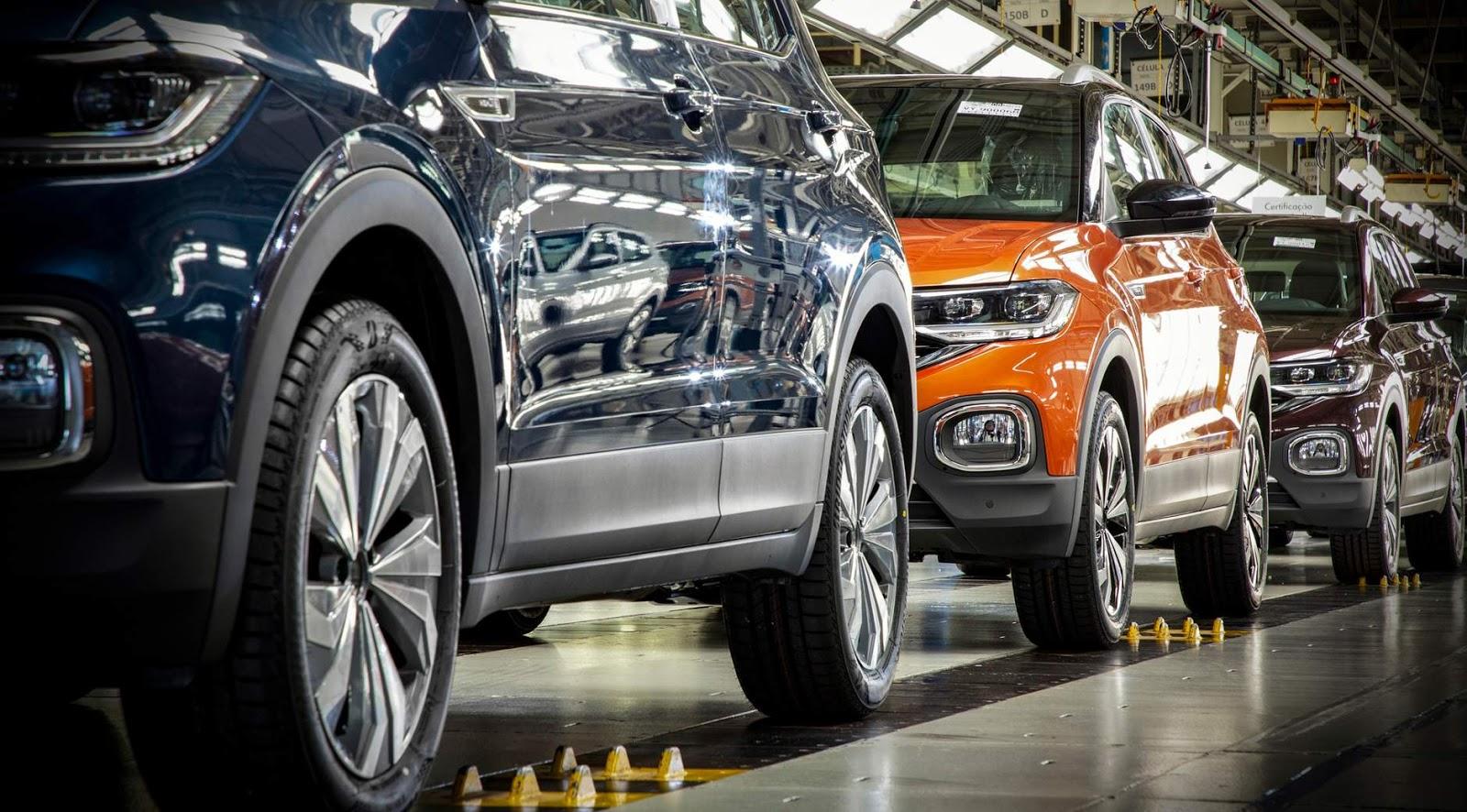 VW Brasil suspenderá produção em 2 fábricas por falta de chips