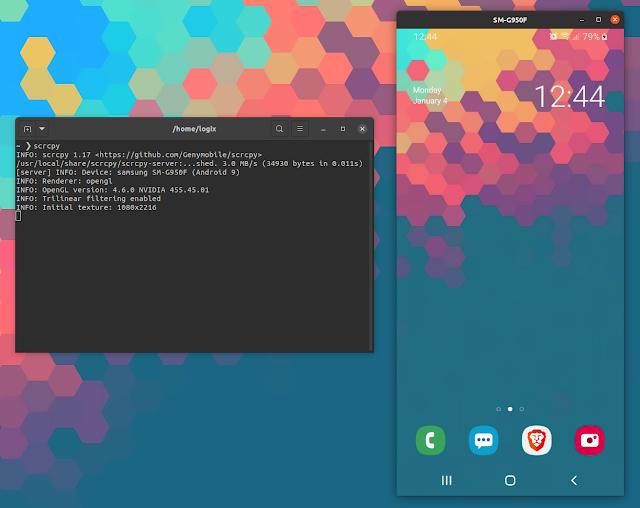 Scrcpy Linux