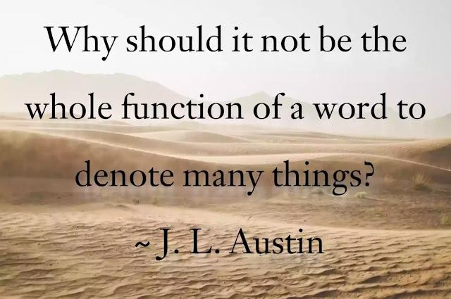 J. L. Austin Quotes in English