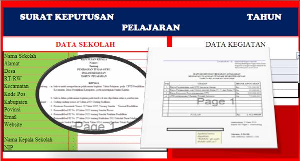 Download Aplikasi Cetak SKBM Otomatis Beserta Lampiran Kegiatannya Terbaru.