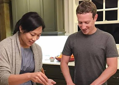 mark zuckerberg wife honeymoon maine