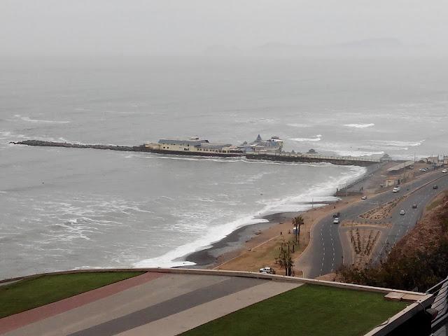 Malecón de Miraflores en Lima Perú