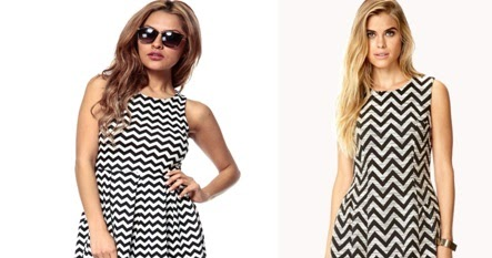 Lines As Optical Illusion On Dress Textile Learner