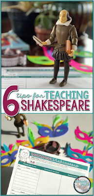 Six tips for teaching Shakespeare