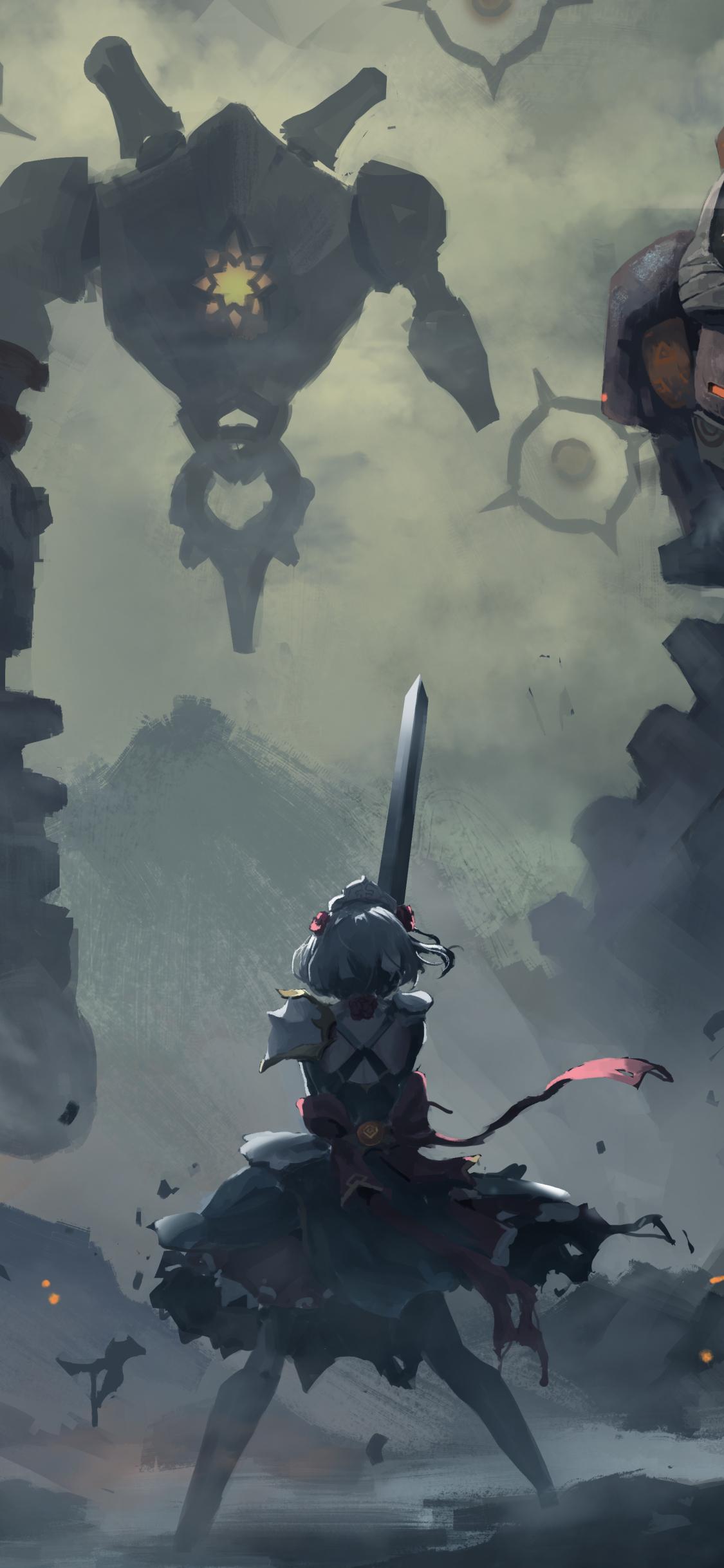 Genshin Impact Game mobile wallpaper