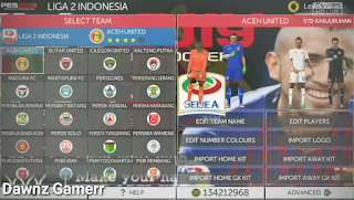 FTS Mod PES 2019 APK OBB+Data Full Indonesia League by Ajie Creator Download