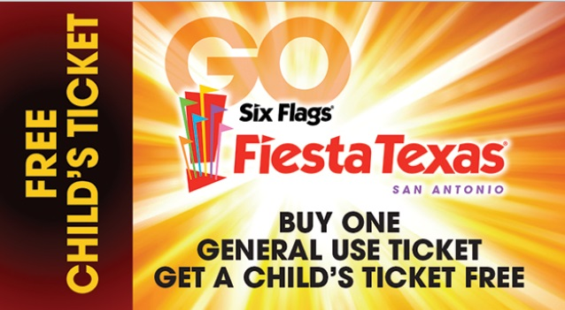 What To Do In San Antonio: Six Flags Fiesta Texas: Free Kids