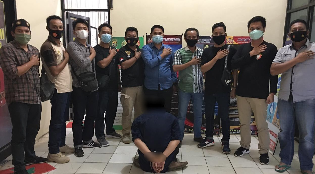 Akibat Peras Sopir Truk di Jalinsum, Seorang Warga Waykanan Diringkus Polisi