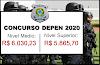 O Concurso do Depen foi retificado com 309 vagas. Salários até R$6.030,23
