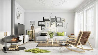 Gaya Furniture Property Rumah Skandinavia