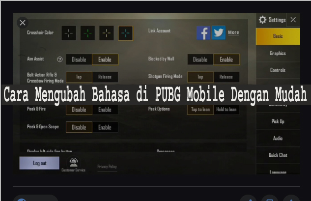 Cara Mengubah Bahasa di PUBG Mobile Dengan Mudah 1