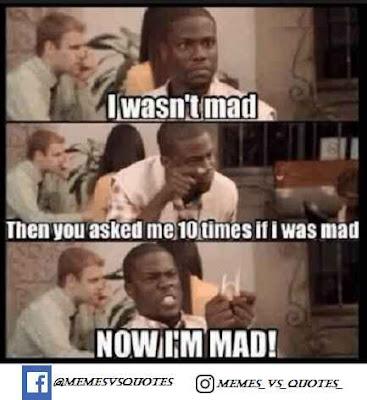I Wasn't Mad