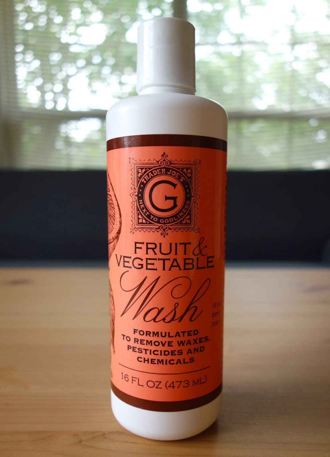 Trader Joe's [Next to Godliness] Fruit & Vegetable Wash