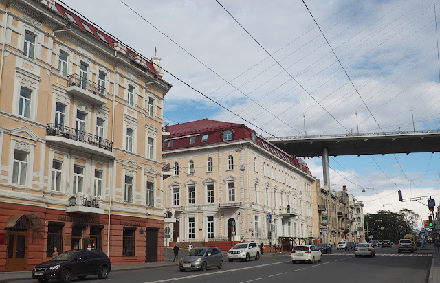 Владивосток, улица Светланская (Vladivostok, street Svetlanskaya)