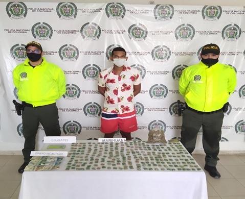 https://www.notasrosas.com/Policía Cesar captura un hombre por tráfico de estupefacientes, en Valledupar