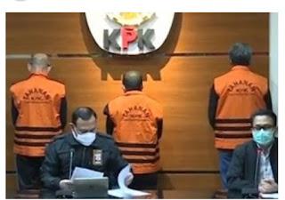 Gubernur Sulsel Bersama As dan ER Resmi Tahanan KPK