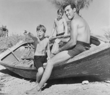 Jelenet az 1964 -es Flipper filmsorozatból