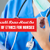 nursing ethics code