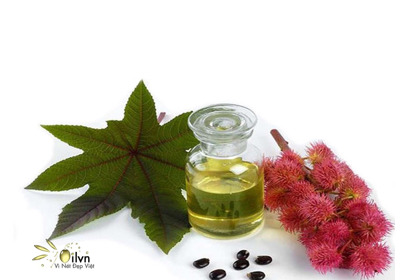 Tinh dầu thầu dầu giúp kích thích làm mượt tóc