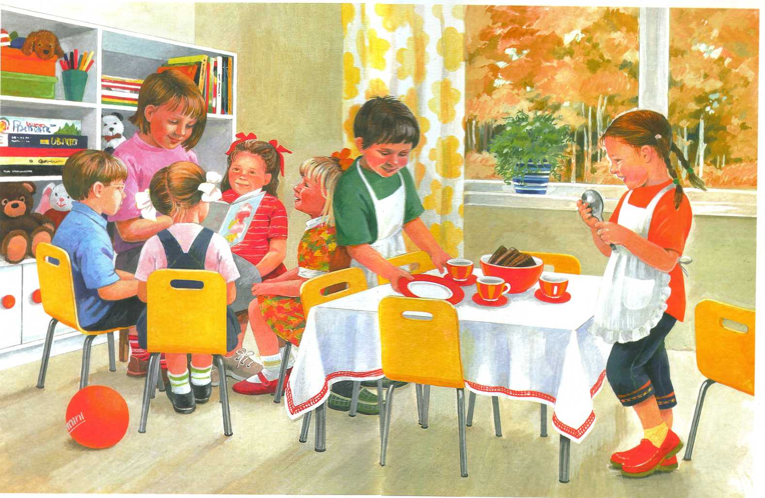 Расскажи про детский сад картинки