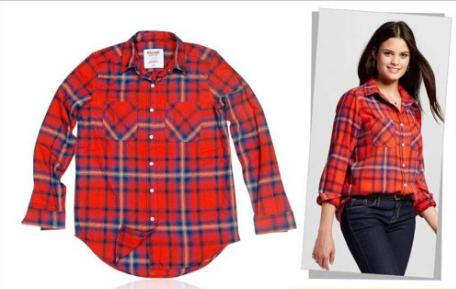 baju online Mossimo Flanel Shirt