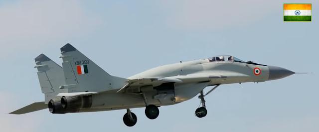 Indian Airforce rushed towards Ladakh