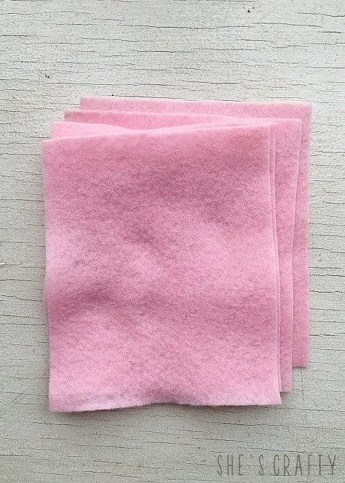 Felt Heart Hand Warmers - 9x12 felt sheets