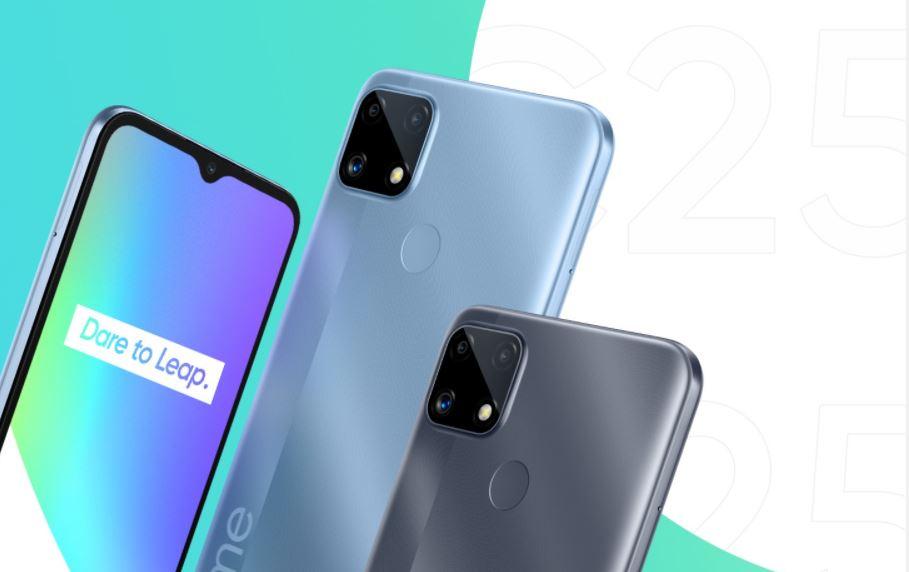 Harga dan Spesifikasi Realme C25, Smartphone Powerful Bertenaga MediaTek Helio G70