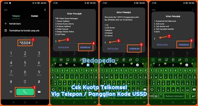 Cara Cek Kuota Telkomsel 2021 SimPATI AS dan Loop Via USSD