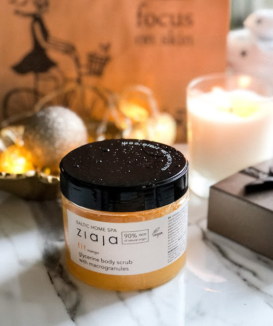 скраб для тела с ароматом манго Ziaja Baltic Home Spa Fit