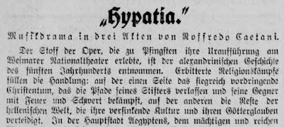 Inizio della recensione del Berliner Tageblatt
