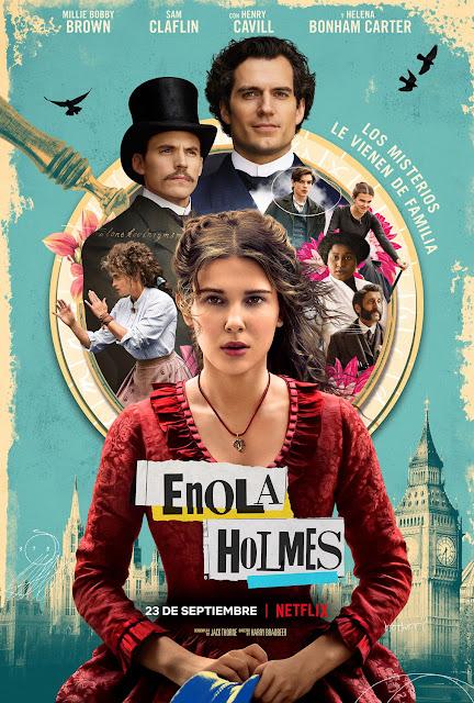 Cartel Enola Holmes