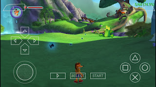 Game Crash of The Titans ISO PSP