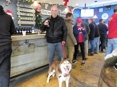 A Dog Friendly Brewery, Long Island New York