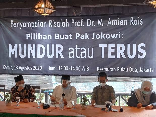 Amien Rais : Selain Membelah Bangsa Indonesia, Rezim Jokowi Lahirkan Banyak Penjilat