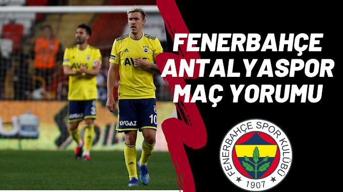 Fenerbahçe Son Dakika Golüyle 1 Puan Aldı !!