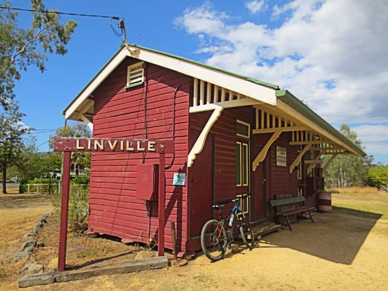 Linville Station in 2019